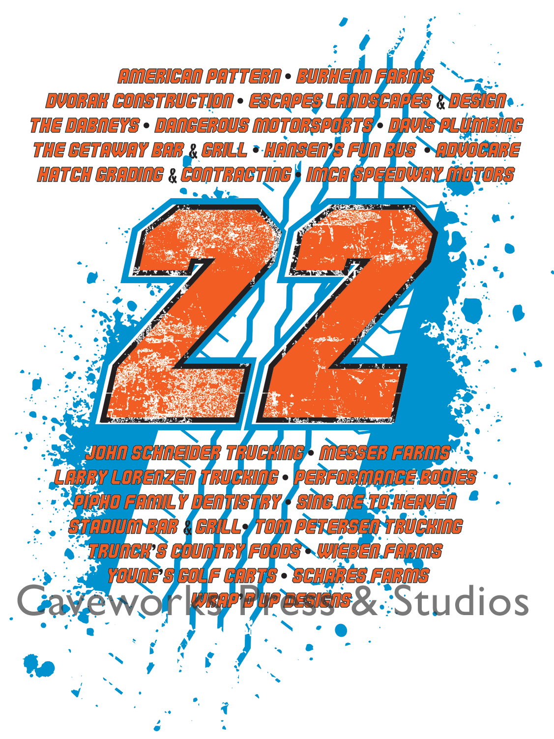 t shirt design caveworks press studios