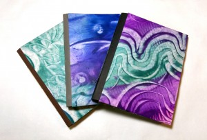 Julie Russell-Steuart 2 Paste Paper Journals