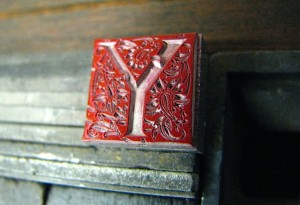 Red Y Massey Initial-Caveworks Press