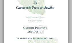 © Caveworks Press & Studios Social Stationery